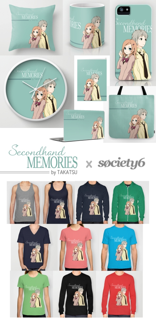 Get exclusive Secondhand Memories designs on exciting new products such as smartphone cases, wall clocks, coffee mugs, pillows, shirts and hoodies and more!